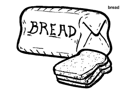 Bread Wheat Colouring Page