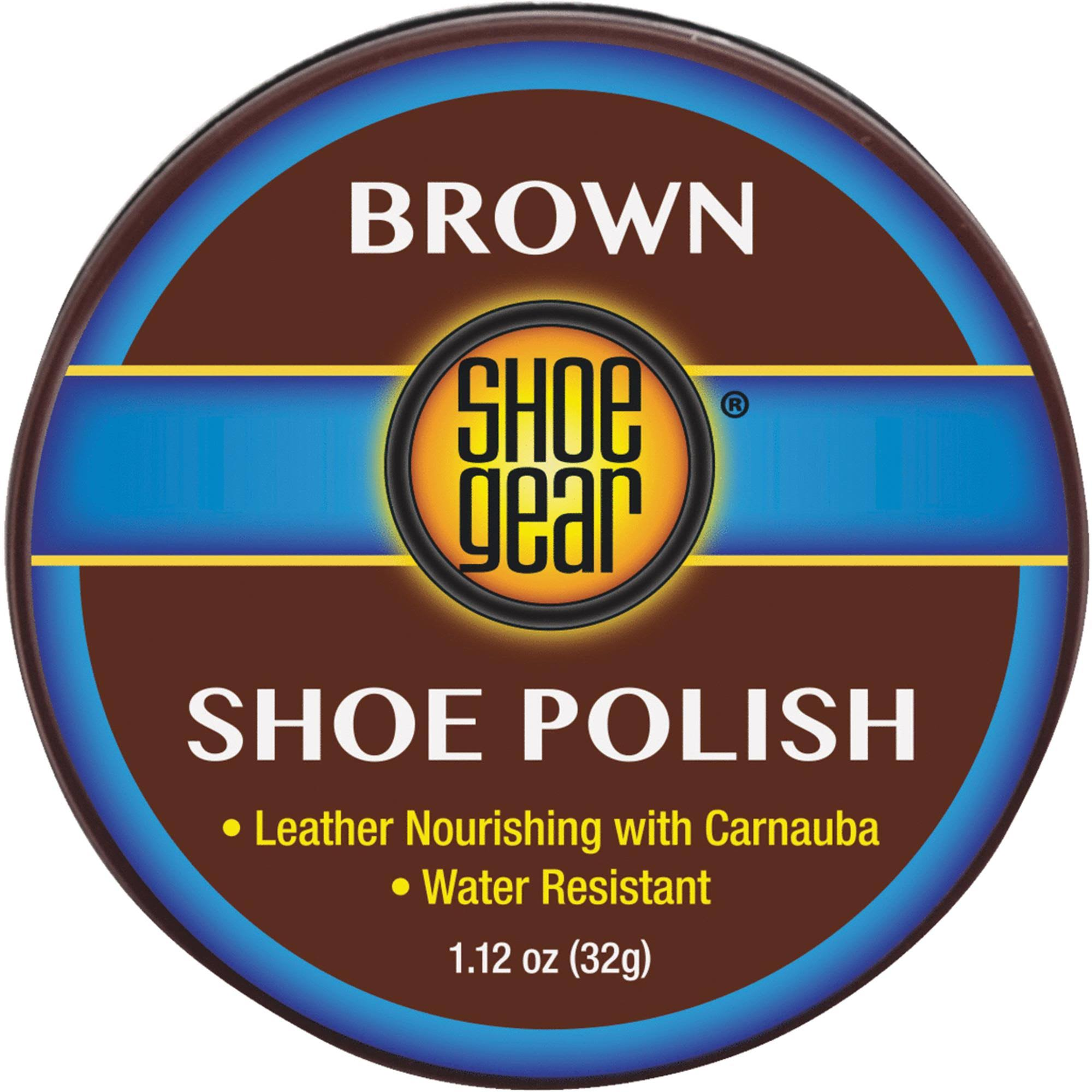 Shoe Gear Shoe Polish - Brown, 32g