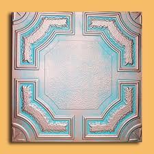 20 x20 yerevan antique bronze brown ceiling tiles antique