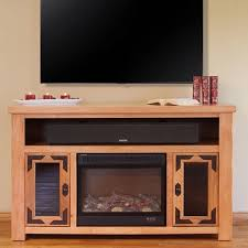 Image Of Rustic Electric Fireplace Gallery