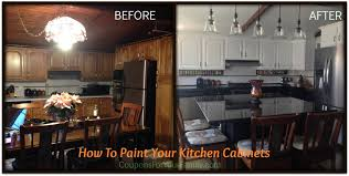 Do It Yourself and Save Project How to Paint Oak Kitchen Cabinets