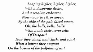 Halloween Two Voice Poems The by The Bells By Edgar Allan Poe Read By Tom O U0027bedlam Youtube