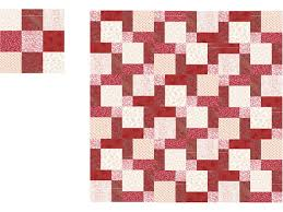 Easy Disappearing Nine Patch Quilt Pattern