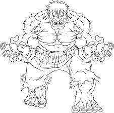 Coloriage Hulk Usineacashcom