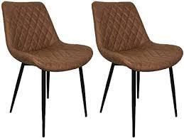 nimara 2er set esszimmerstühle mit microfaser bezug stuhl
