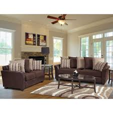 Brown Couch Decorating Ideas Living Room by Interior Tan Custon Living Room Interior Design Featuring Bole