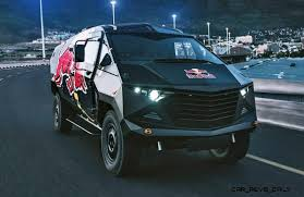 South African RED BULL Concept Truck Is Defender 130 APC