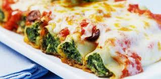 cannellonis aux blettes recette sur cuisine actuelle