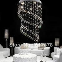 Buy Offer Free Shipping Simple Modern Hanging Crystal Lamp Living Room Bedroom Dining Line Rice Lamps Lighting Chandelier La In Cheap Price On