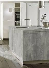 beton ciré günstige arbeitsplatte in beton optik küche