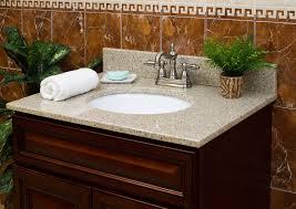 Bathroom Vanity Tops With Sink by Bathroom Vanity Countertops Quartz Vanity Countertops Lowes