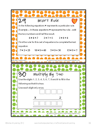 Halloween Brain Teasers Worksheets by Math Task Cards Math Problems And Math Brain Teasers Cards Set C