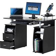 Techni Mobili Computer Desk With Side Cabinet by Techni Mobili Multi Function Computer Desk Espresso Staples