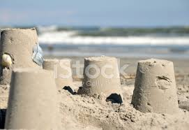 Premium Stock Photo Of Simple Sandcastle