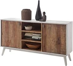 möbel ideal sideboard antik weiß vintage braun im