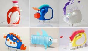 Plastic Bottle Animal Arts