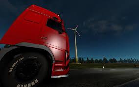 100 Car Truck Games Euro Truck Simulator 2 Video Games Night Sun Morning Road Car Trucks