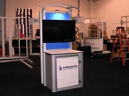 TV Monitor Kiosk Rentals