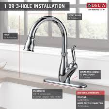 Delta Faucet 9178 Ar Dst Leland by 9178 Ss Dst Single Handle Pull Down Kitchen Faucet