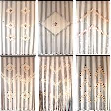 bamboo beaded door curtain uk decoration and curtain ideas