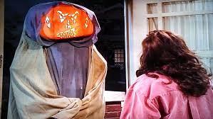 Bathroom Stall Prank Ghost by Roseanne U0027s Halloween Episodes Poptechmotive