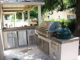 Full Size Of Kitchennice Small Outdoor Kitchen Ideas With Green Egg And Granite Counter