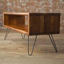 Danish Modern Sofa Legs by Iroko Midcentury Modern Hairpin Leg Tv Stand Tv Stands
