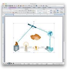 telecommunication network diagrams design elements
