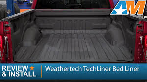 Penda Bed Liner by 2015 2017 F 150 Weathertech Techliner Bed Liner Review U0026 Install