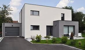 maison en cube moderne cube avant tout maisons d en nord