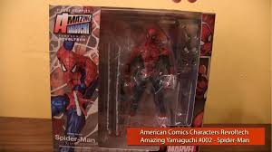Wcw Halloween Havoc 1991 by Unboxing Review Amazing Yamaguchi Revoltech Spider Man U2013 Aipt