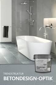trendstruktur betondesign optik badezimmer klein