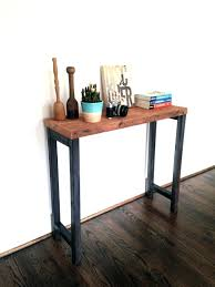 Reclaimed Wood Console Table With Drawers Toronto The Steel ... Ana White Pottery Barn Benchwright Farmhouse Ding Table Diy Sofas Marvelous Towels Coffee Table And End Tables Pottery Barn Sofa Tables Centerfieldbarcom Fniture Reclaimed Wood Sofa 15 Best Ideas Of Console Dreamed Matt And Jentry Home Design Fabulous Benchwright Extending Ding Knockoff Zinc Projects Amazing Stools Ikea Griffin Media Decor Look Alikes