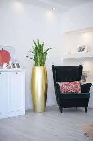 details zu exklusiver pflanzkübel magnum aus fiberglas 116 cm gold hochglanz
