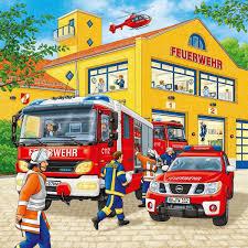 Coloriage Ambulance De Pompier