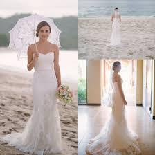 Discount Strapless Wedding Dress Mermaid Style