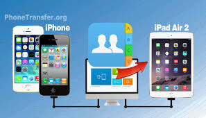 iPhone to iPad Air 2 Transfer How to Sync Contacts from iPhone to