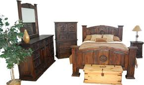 News Rustic Bedroom Furniture Sets On Mexican And Texas Style Home