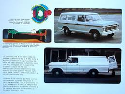100 Ford Trucks Through The Years 1974 B100s Sold Only In Latin America These Were Suburban