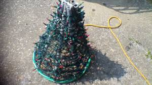 Spiral Lighted Christmas Tree by Christmas Mini Tree Project Youtube