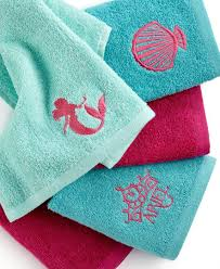 Finding Nemo Bath Towel Set by Disney Bath Accessories Little Mermaid Shimmer And Gleam 5 Piece