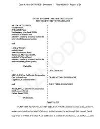 Lamps Plus Data Breach Class Action by First Iphone 4 Class Action Lawsuit Filed Against Apple And At U0026t