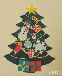 The Best Way To Make A Felt Christmas Tree For Your Little Ones Get In