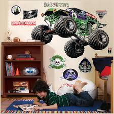 PartyBellcom Monster Jam Giant Wall Decals, Monster Truck Wall ... Cars Wall Decals Best Vinyl Decal Monster Truck Garage Decor Cstruction For Boys Fire Truck Wall Decal Department Art Custom Sticker Dump Xxl Nursery Kids Rooms Boy Room Fire Xl Trucks Stickers Elitflat Plane Car Etsy Murals Theme Ideas Racing Art
