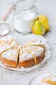 italienischer kuchen mit mascarpone und birnen einfache