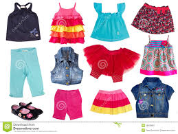 Fashion Summergirl Clothes Stock Image
