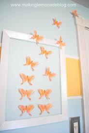 Butterfly Girls Nursery Wall Art