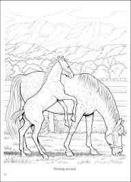 Pages And Free Printable Crafty Design Horse Coloring Books Wonderful World Of Horses Book 023455 Details