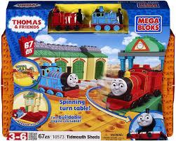 Tidmouth Shed Deluxe Set by Mega Bloks Thomas Friends Tidmouth Sheds Set 10573 Toywiz