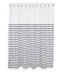 Nicole Miller Home Chevron Curtains by Kate Spade New York Harbour Stripe Shower Curtain Dillards
